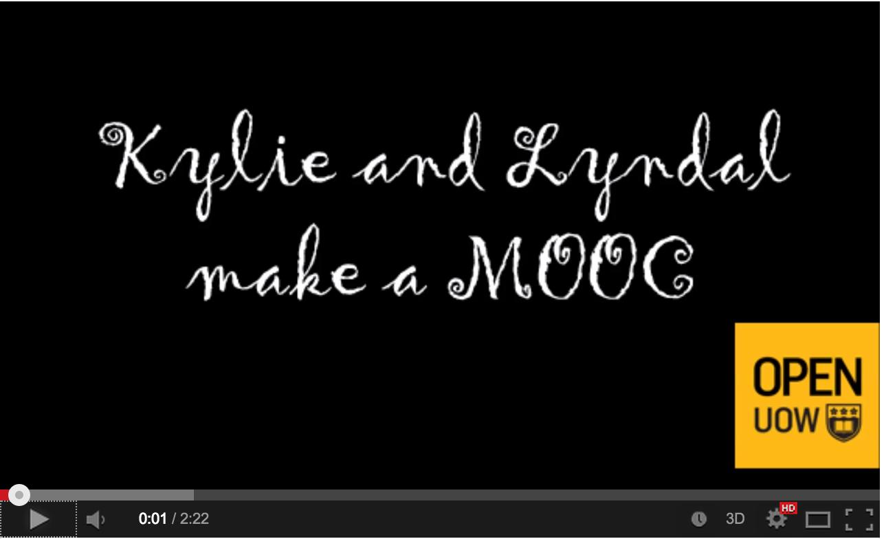 "UOW MOOC ""trailer"""